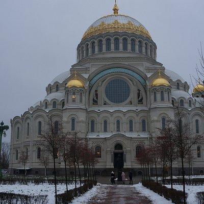 Морской собор святителя Николая Чудотворца, Кронштадт, Якорная пл., 1