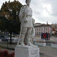 Estatua o Pastor Peregrino