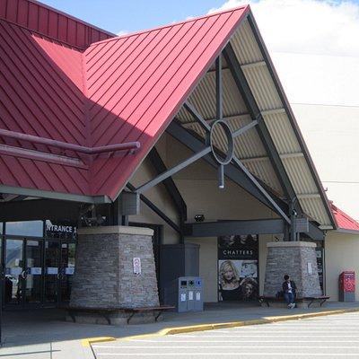 Mall entrance.