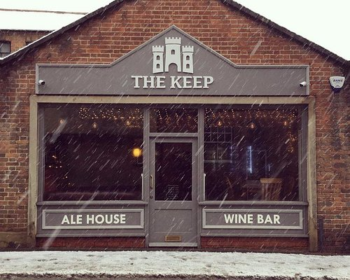 The Keep on a snowy day in Wallingford
