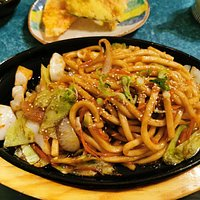 vegetarian yaki-udon