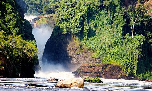 Places you must #visit in the #PearlofAfrica! #MurchisonFalls, the most #powerful waterfall in the world! Hear, see and feel the #nature before your eyes when you choose this #3days safari to Murchison Falls National Park with www.ssemambotours.com. Come experience the #Wonders of Africa.