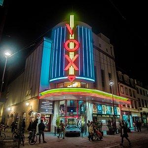 Façade extérieure du Cinéma Vox à Strasbourg
