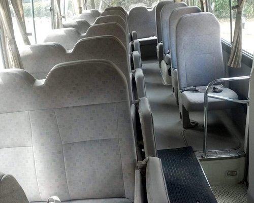 Nairobi - Arusha - Moshi Shuttle Bus Services. Kenya to Tanzania Service. Nairobi Depart.