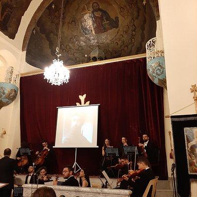 A beautiful church in Damascus.