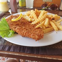 Friday Fish N Chips @ The Good Corner Restaurant and Bar in Udon Thani, Isaan, Thailand