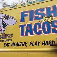 Awesome fish tacos
