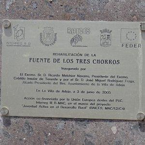 Adeje. La Fuente de los Tres Chorros (Agosto 2019)