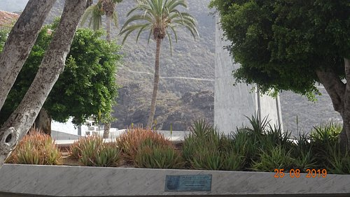 Adeje. Plaza de España, 25.08.2019