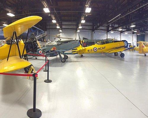 A view inside our hangar