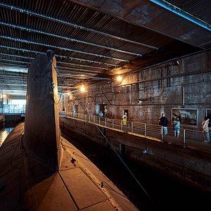 Photo extérieur du sous-marin espadon © A. Lamoureux