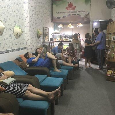 MOCKBA - the blind massage ( MOCKBA spa ) массаж слепых москва