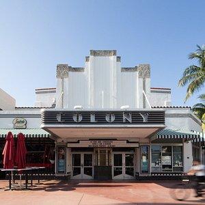 The Colony Theatre on Lincoln Road