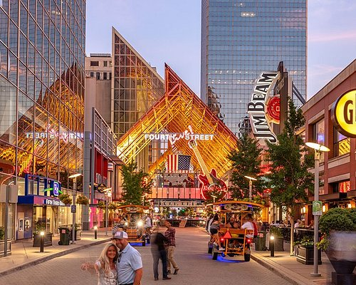 Fourth Street Live! is located in the heart of downtown Louisville within walking distance of several area attractions and hotels.