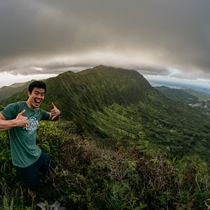 From Shanghai to the top of the Koolau's