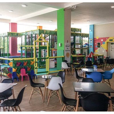 Tolino's playground inside view