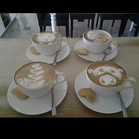 the variety of cappuchino made with loves