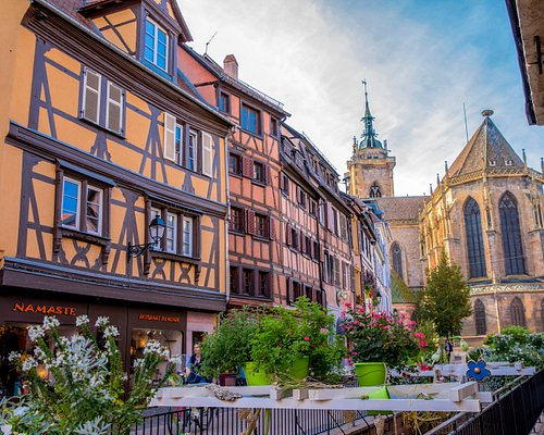 Vieille ville de Colmar (Rue de l'église)