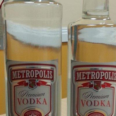 Fake vodka  cheap drinks