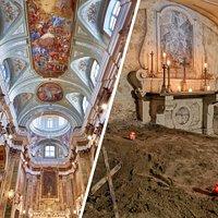 Interno Chiesa e Cripta