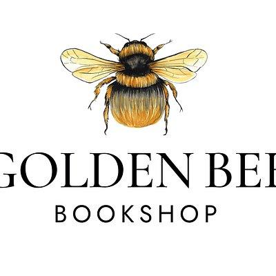 The logo for Golden Bee Bookshop.