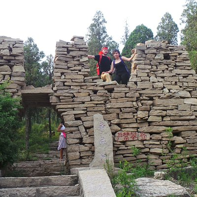 The Great Wall of Qi at Dafeng Mountain