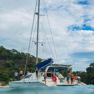 Our luxurious 47' Leopard Catamaran awaits for you to come sailing the Pacific Coast of Nicaragua with us!