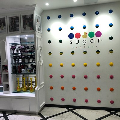 Front of Sugar Factory located inside the Theater Box