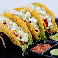 soft and crispy taco