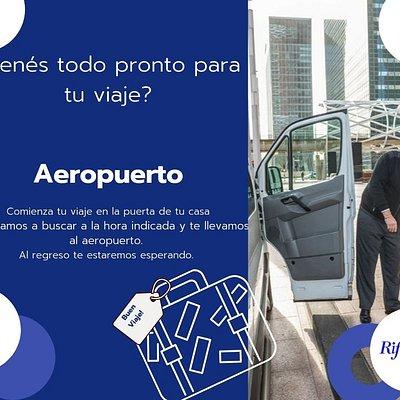 Traslados de pasajeros. Transfer Vans y Minibuses Aeropuerto Internacional de Carrasco