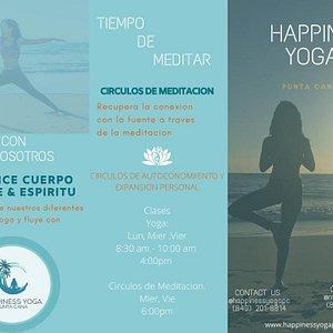 Si estás en Bávaro-Puntacana puedes optar por darte una escapada y dedicarle una hora a tu salud física y mental en Happiness Yoga.
