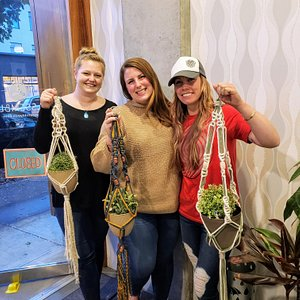 Modern craft workshops for a ladies' night out