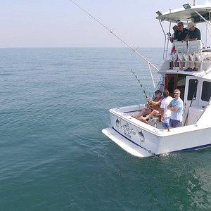 Em acção de pesca