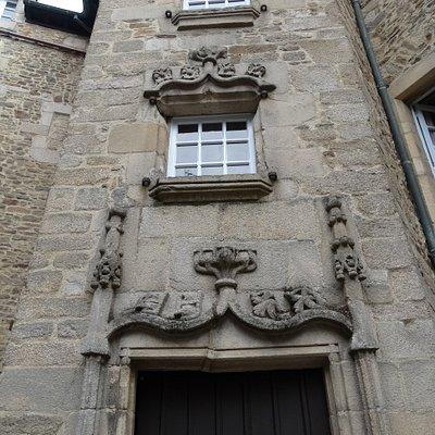 Détail de la Tourelle escalier du XVIe siècle