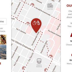 Noleggio bici Torino, Scegli uno dei nostri tour in bicicletta e fatti accompagnare dalle nostre guide alla scoperta delle bellezze della città di Torino!