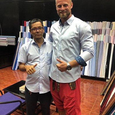 so müssen Hemden sitzen. Vielen dank Kings-Fashion