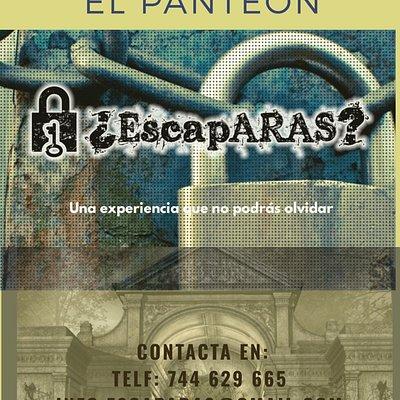 Reserva ya nuestra Sala de Escape en www.escaparaslucena.es