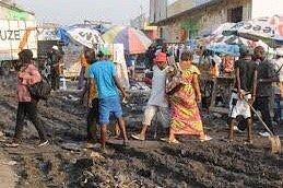 Marché Somba Zigida, le plus sale de Kinshasa