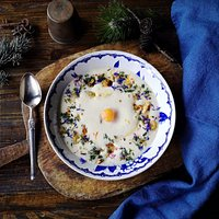Vegetarian fonduta made with local Zermatt cheese | Brasserie Uno Zermatt