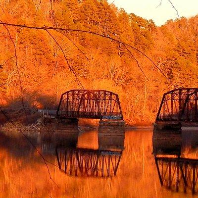 Sunset at Broken Bridge