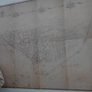 One of the maps of Novi Sad