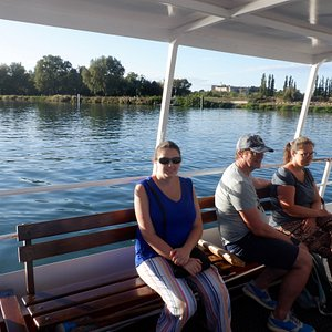 Crossing the Rhone in style!