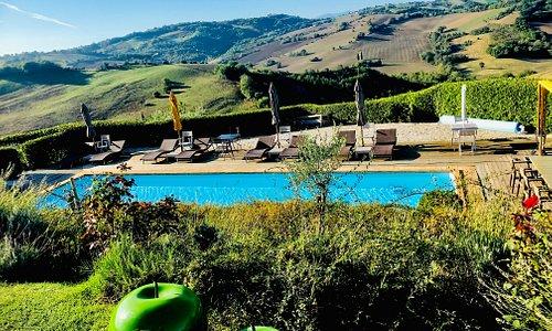 Great pool and beautiful views