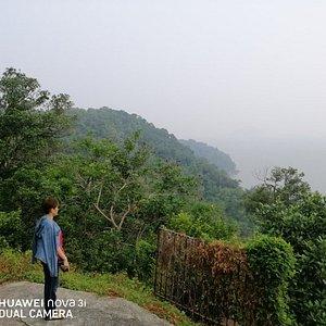 Hill trek from Gertak Sanggul to Pulau Betong