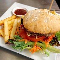 Ham Burger w/ Chips