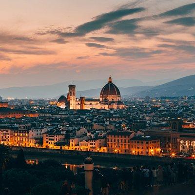 Florence during night