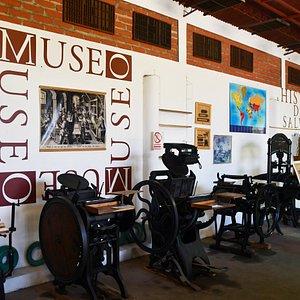 Museum presses