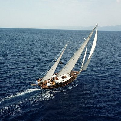 exploring the Ionian Islands on a unique yacht