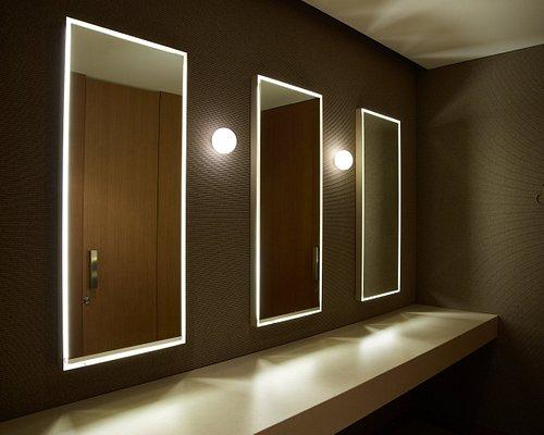 Detalle espejo baños