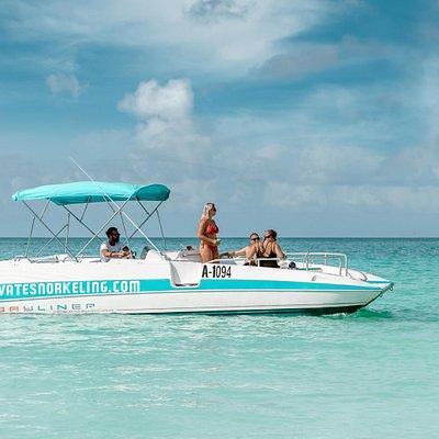 Private Snorkeling Aruba Private Boat Private Tours Family boat